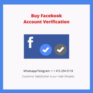 Buy Facebook Verification