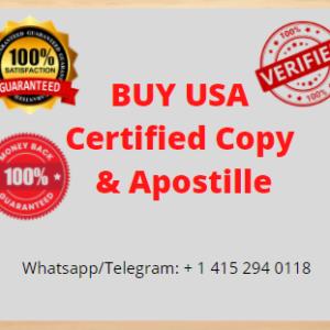 Certified Copy & Apostille
