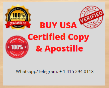 Certified Copy & Apostille