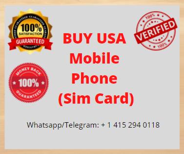 US Mobile Phone (Sim Card)
