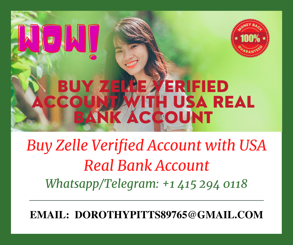 Buy Zelle Verified Account with USA Real Bank Account