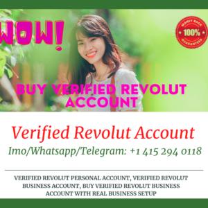 Buy Revolut Fully Verified Accounts & Documents