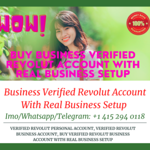 Buy Revolut Business Verified Accounts With Real Business Setup