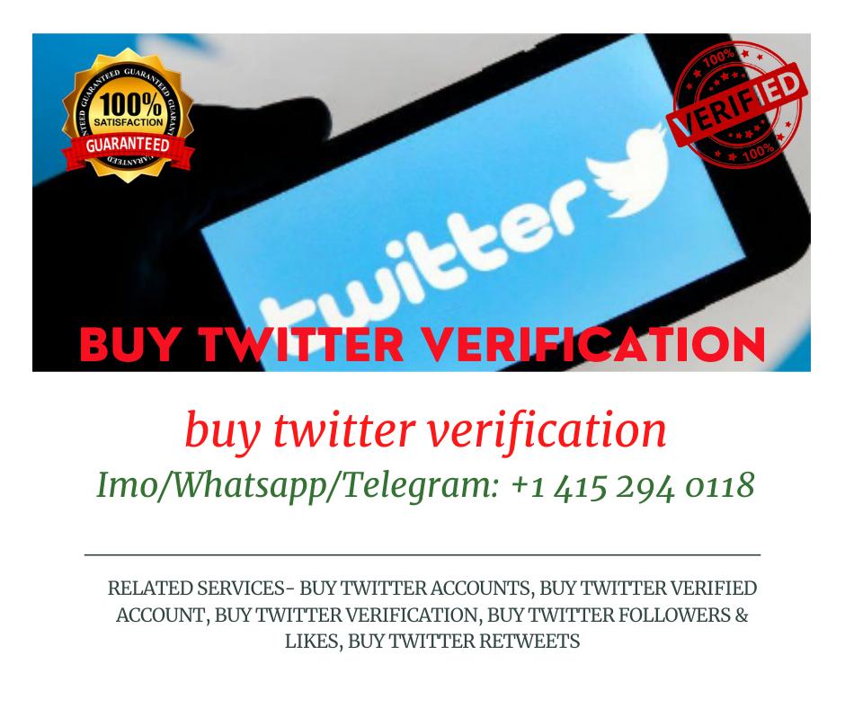 buy twitter verification